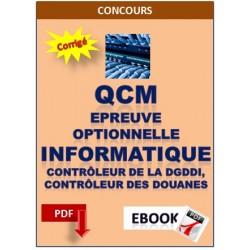 QCM d'informatique préparation au concours Contrôleur de la DGDDI, Contrôleur des douanes