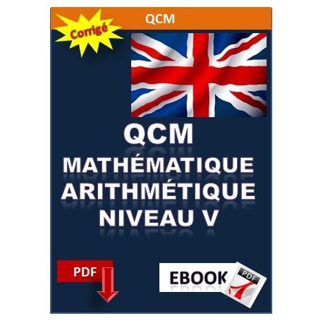 QCM de mathématique et d'arithmétique niveau 5 (CAP BEP, BEPC)
