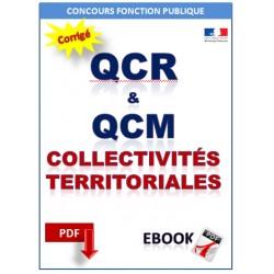 QCM & QCR sur les collectivités territoriales.