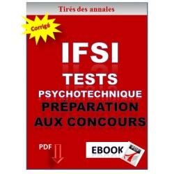 Tests psychotechniques pour la préparation aux concours IFSI