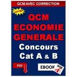QCM D'ECONOMIE GENERALE Concours d'attaché territorial