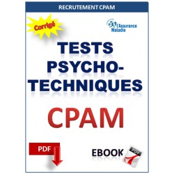 Tests psychotechniques recrutement CPAM