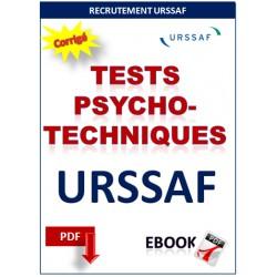 Tests psychotechniques recrutement de l'URSSAF