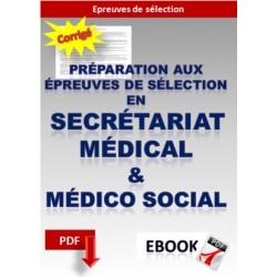 Préparation aux épreuves de sélection en secrétariat médical et médico social