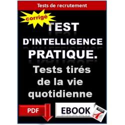 Test d'intelligence pratique. Les maths dans la vie de tous les jours