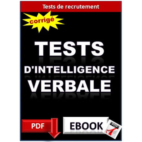 50 tests d'intelligence verbale.