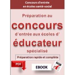 Préparation au concours d'entrée aux écoles  d'éducateur spécialisé.