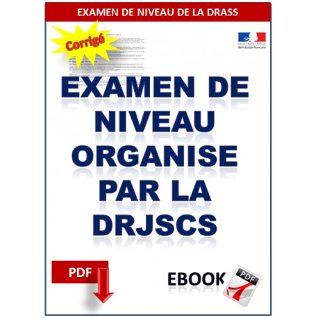 PREPARATION A L'EXAMEN DE NIVEAU ORGANISE PAR LA DRJSCS