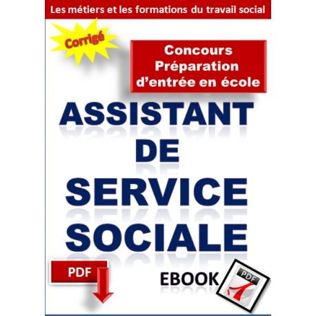 Préparation au concours d'entrée en école d'assistant de service sociale