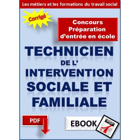 Préparation au concours d'entré en école de Technicien de l'intervention sociale et familiale