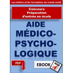 Aide médico-psychologique - préparation du concours d'entrée en école
