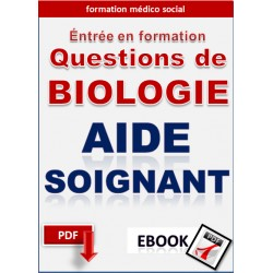 BIOLOGIE Aide_soignant - Concours d'entrée en formation