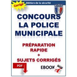 Préparation au concours de gardien de police municipale -  Annales corrigées