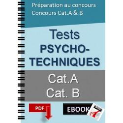 Tests psychotechniques pour concours de catégorie A et B