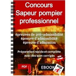 Sapeur pompier professionnel Préparation au concours