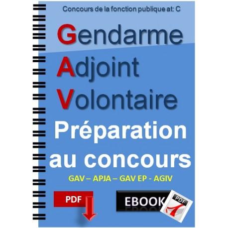 Gendarme adjoint volontaire GAV. préparation au concours