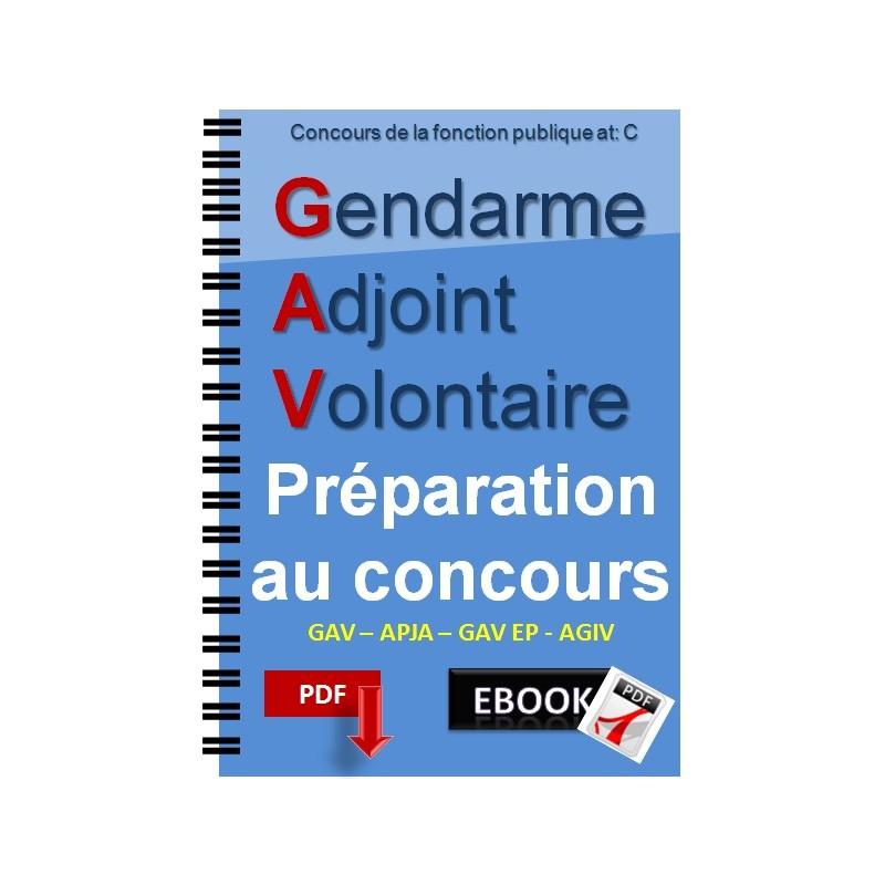 Gendarme Adjoint Volontaire Gav Préparation Au Concours