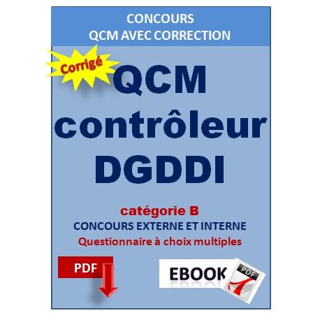 QCM contrôleur de la DGDDI