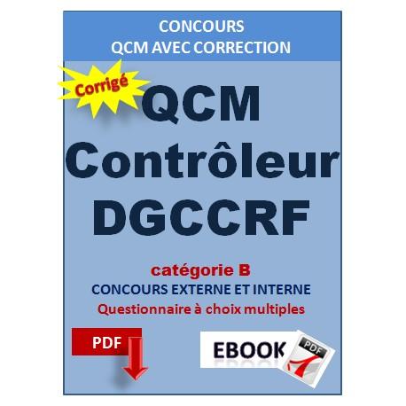 QCM contrôleur de la DGCCRF