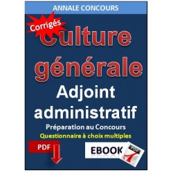 QCM de culture générale concours catégorie C