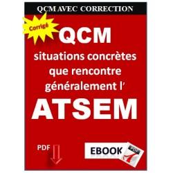 ANNALE du concours ATSEM. QCM corrigés
