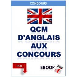 Qcm d'anglais aux concours
