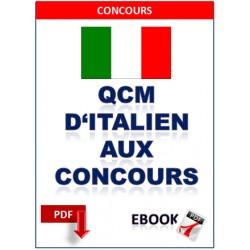 Qcm d'italien aux concours