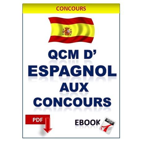Qcm d'espagnol aux concours