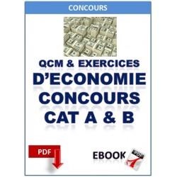 L'ÉCONOMIE AUX CONCOURS DE CATÉGORIES A ET B DE LA FONCTION PUBLIQUE