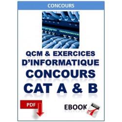 L'ÉPREUVE D'INFORMATIQUE AUX CONCOURS DE CATÉGORIES A ET B DE LA FONCTION PUBLIQUE