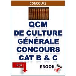 CULTURE GENERALE AUX CONCOURS DE CATÉGORIES A ET B DE LA FONCTION PUBLIQUE