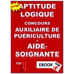 Aptitude Logique Concours Auxiliaire De Puériculture & Aide-Soignante