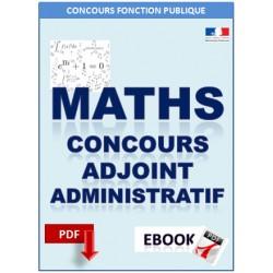 Mathématique au concours d'adjoint administratif