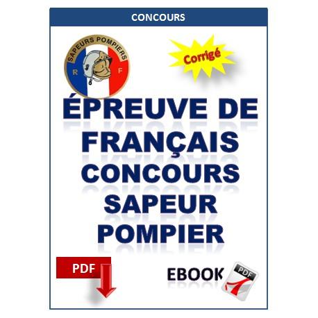 Exercices de français - Sapeur-pompier professionel & sapeurs-Pompiers Volontaires