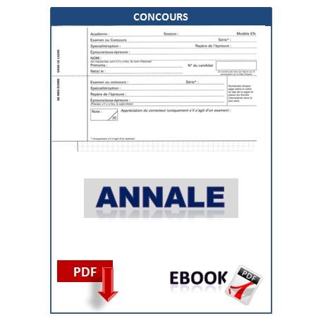 RAPPORT DES CONCOURS EXTERNES D'ADMISSION EN 1ERE ANNEE A L'ECOLE NAVALE EN 2005