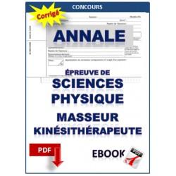 Exercices de Physique concours masseur kinésithérapeute