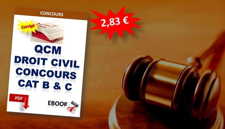 QCM de droit civil