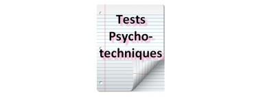 Tests psychotechniques pour concours