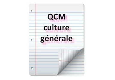 QCM de culture générale pour les concours de la fonction publique